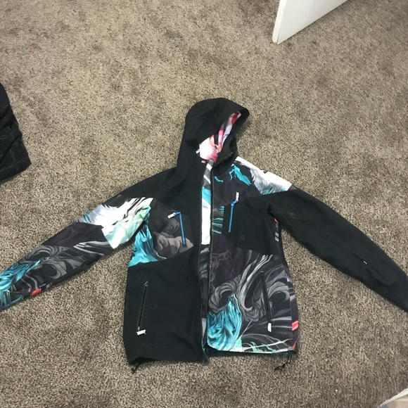 new concept f747d a08a3 QUICKSILVER Travis Rice GORE TEX SNOWBOARD JACKET